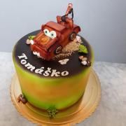 Torta autíčko burák