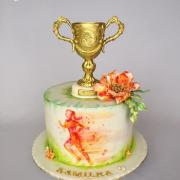 Torta Pre atlétku kamilku