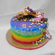 Torta dúhová s dobrotami