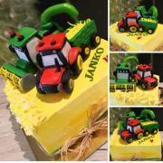 Torta S traktorom a kombajnom