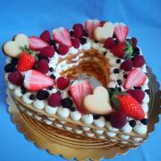 Torta Nahá torta s lineckého cesta