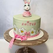 Torta Anitke, ktorá ľúbi svojho zajačika:)