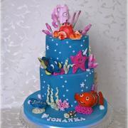 Torta Nemo a Dory