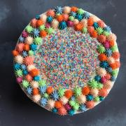 Torta Detska farebna torta
