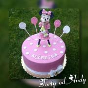 Torta Tortička Minie Mouse