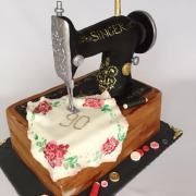 Torta Singer šijací stroj