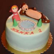 Torta Masa a medved