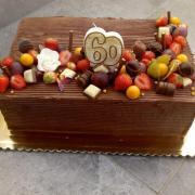 Torta Čokoládová k 60-tke