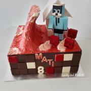 Torta Minecraft pre Matiaska