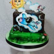 Torta Torta s motívom krtka