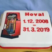 Torta Firemná - rozlúčka so šéfkou