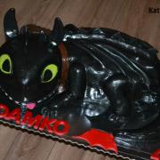 Torta ako vycvičiť draka