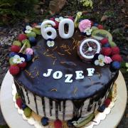 Torta Drip narodeninová