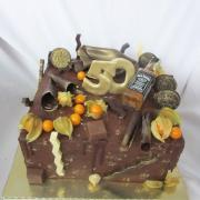 Torta Čokoládová  pre pána  k 50-ke