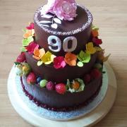 Torta Narodeninová k 90