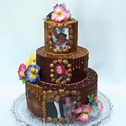 Torta Čokoládová pre troch oslávencov