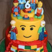Torta torta Lego