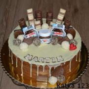 Torta Nutelová