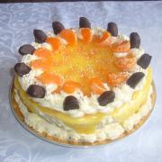 Torta narodeninová ovocná