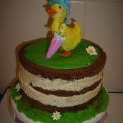 Torta jadranská nahá torta