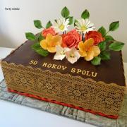 Torta Výročie svadby