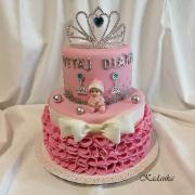 Torta Na krstiny v štýle princess...