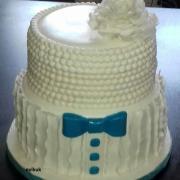 Torta svadobná trochu iná