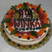 Torta vnučke Ninke k narodeninám