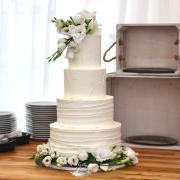 Torta Svadobná krémová torta