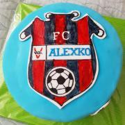 Torta Futbalová maľovaná...