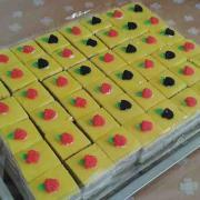 Torta Citronovo-makové rezy