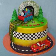 Torta vláčik Tomáš a Mcqueen