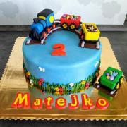 Torta Torta s vláčikom...