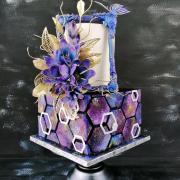Torta Vo vesmírnych farbách ...