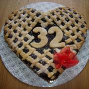 Torta obľúbený mrežovník pre oslávenca