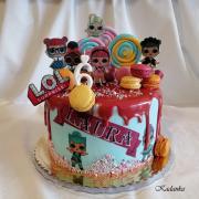 Torta L.O.L. Surprise