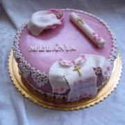 Torta krstinová punčová