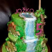 Torta dinosaury