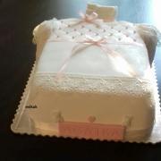 Torta krstnej k narodeniu dcérky