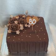 Torta Čokoládová drip torta s čokoružami