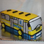 Torta Autobusík