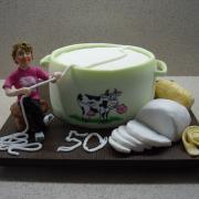 Torta výroba mliečnych výrobkov