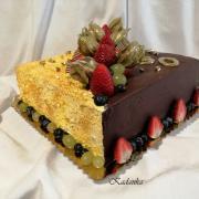 Torta Čokoládovo krémová drip...