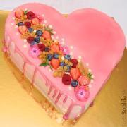 Torta Punčové srdce