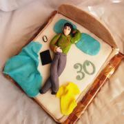 Torta Torta posteľ...