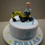 Torta pre Tobiaska s bágrom