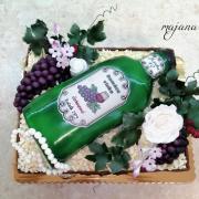 Torta Krabica s vinkom