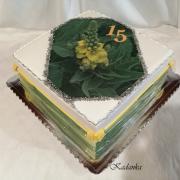 "Torta Pre kapelu Divozel k 15 temu výročiu ""Divozel"""