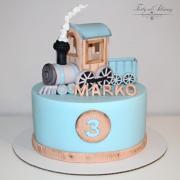 Torta ... s vláčikom pre Marka ...