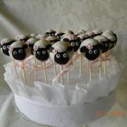 Torta Narodeninové cake pops